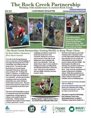 Rock Creek Partnership Newsletter 2013
